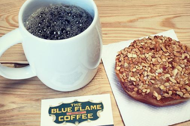 Blue Flame Coffee and Donut