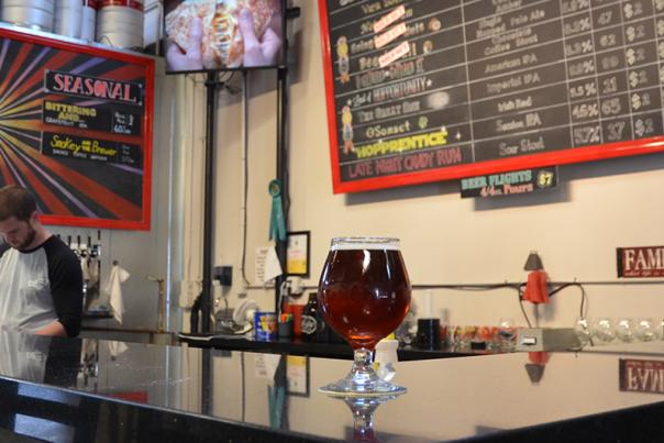 Four Sons Brewery Tasting Room
