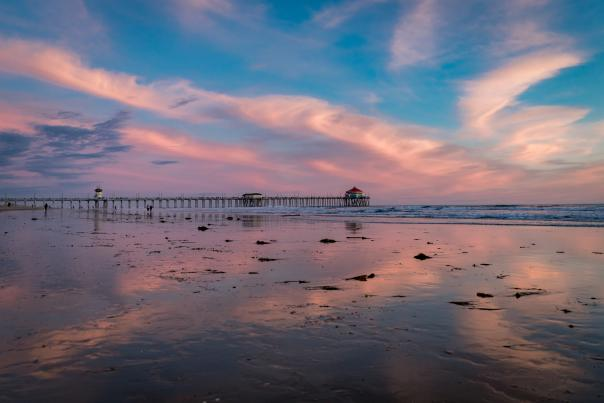 Huntington Beach Pier: Moments of Zen