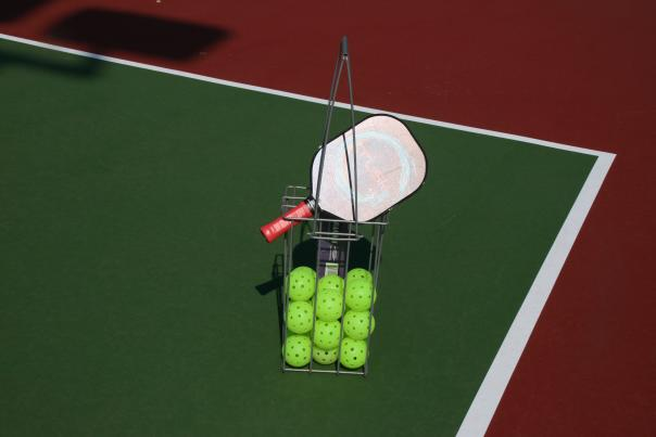 Pickleball in Huntington Beach