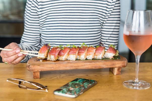 Bear Flag Fish Co. Sushi Roll