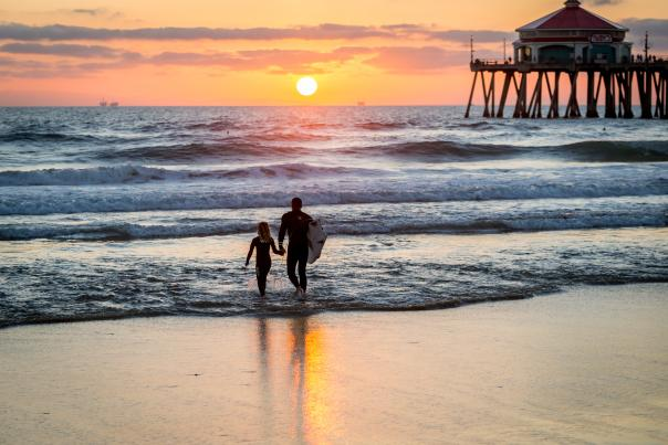 Father's Day in Huntington Beach