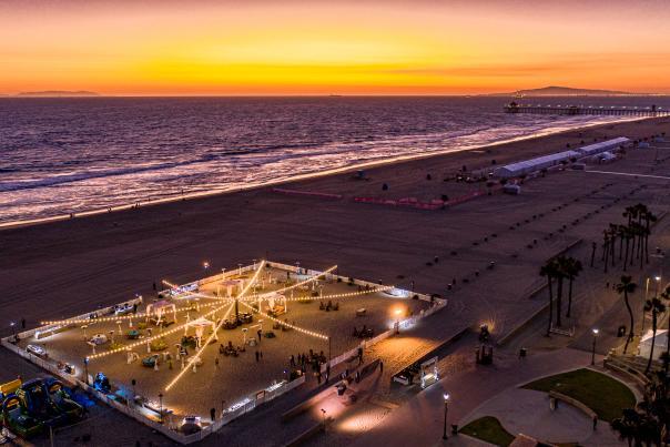 Huntington Beach Group Event on the Beach
