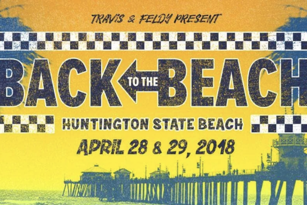 KROQ Back to the Beach Festival Header