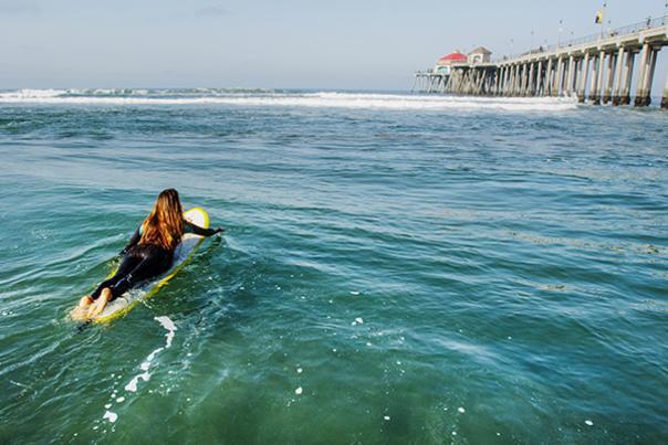 Surfing Pier