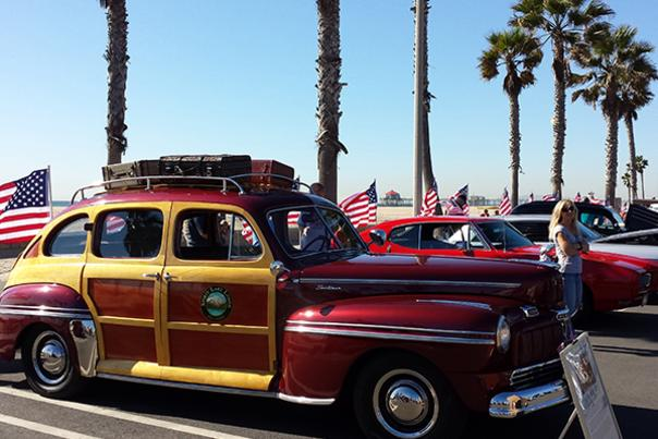 Huntington Beach Veterans Day Car Show