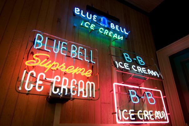 Blue Bell Creamery-Austin-Neon Sign-H