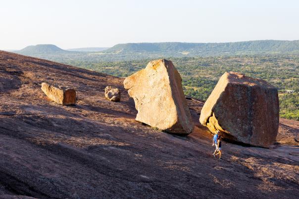 Hiking-Enchanted Rock-Fredericksburg-H