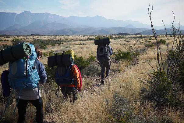 Hiking-Big Bend-Backpacks-H