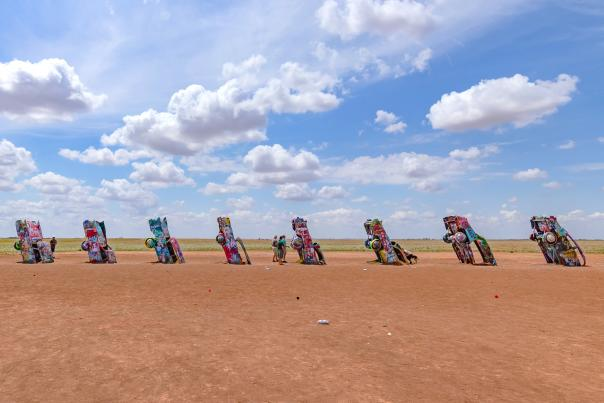 Cadillac Ranch-Amarillo-Route 66-H