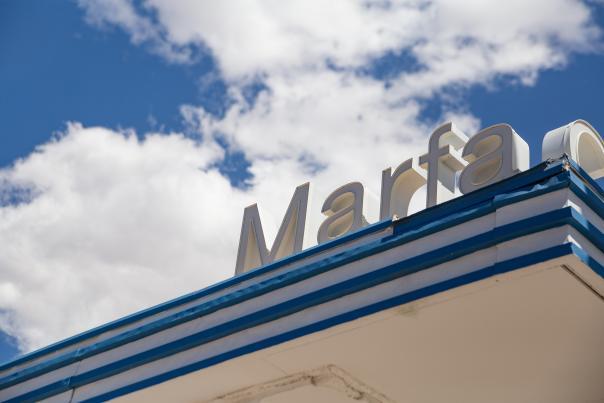 Marfa Sign-H