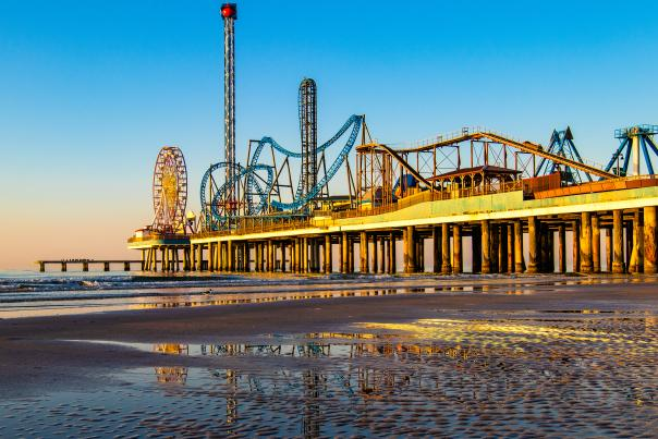 Pleasure Island Pier-Galveston-H