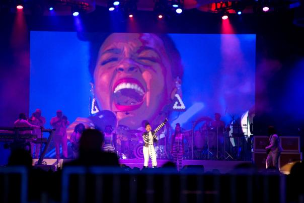 Janelle Monae performs a Live concert at Scotiabank Arena