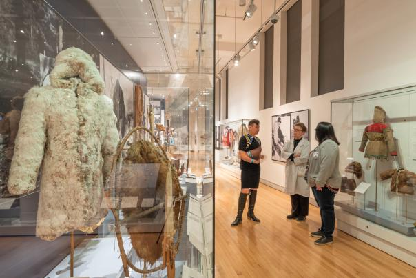 Indigenous collection at the Royal Ontario Museum