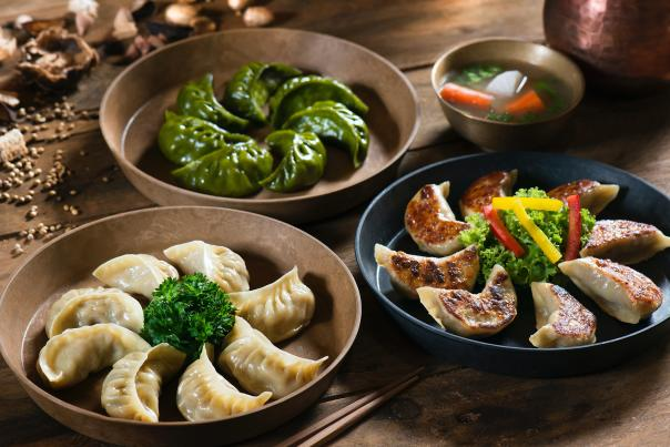 Momos are a famous Tibetan dish
