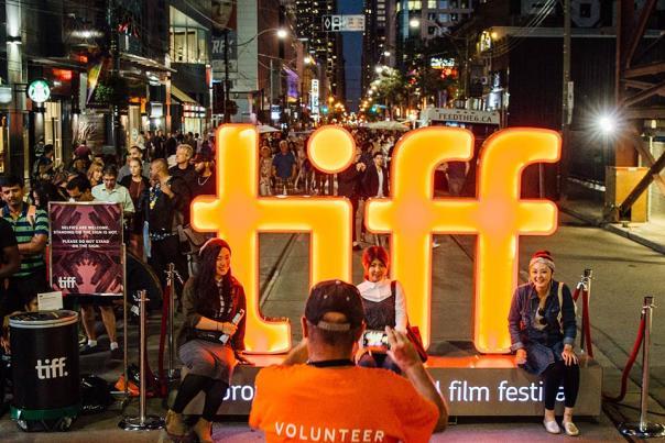 toronto-international-film-festival-evening-street-with-crowds
