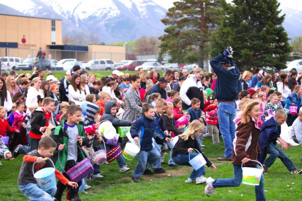 Easter Egg Hunts in Utah Valley - Springville