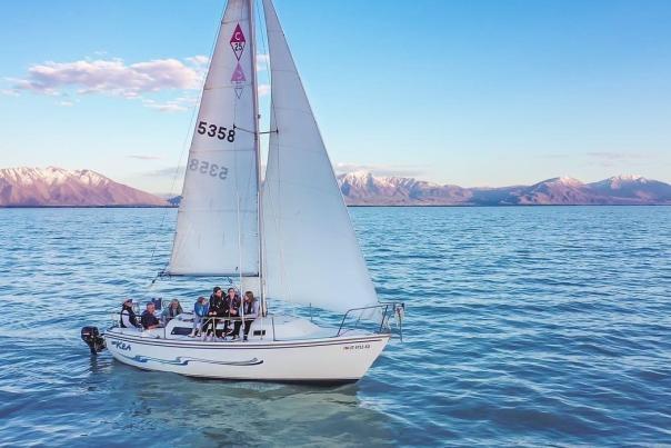 Sailing Utah Lake