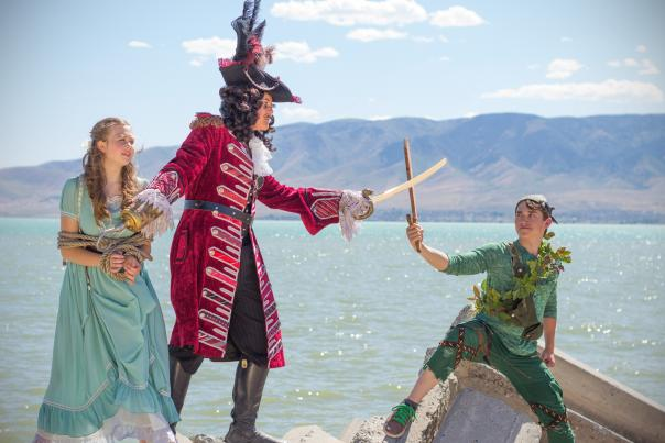 Peter Pan Jr at Hale Center Theater Orem