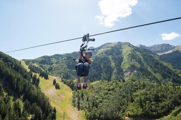 Zipline at Sundance