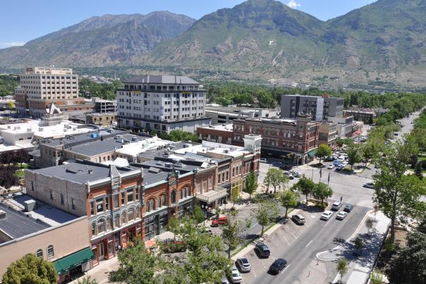 Downtown Provo in Summer