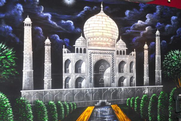 India Palace Wall Mural