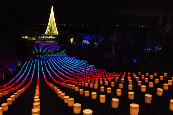 Luminaria from utahvalley.com