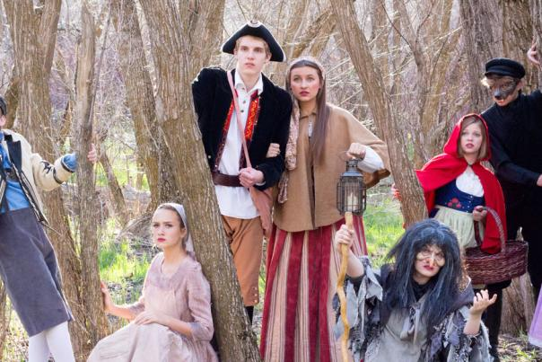 Into the Woods Jr at Hale Center Theater Orem - Main Characters