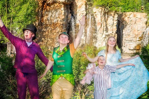 Peter Pan at SCERA Shell Outdoor Theater