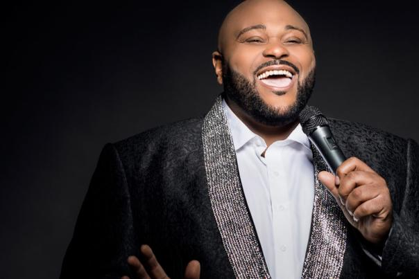 Ruben Studdard performs at SCERA Shell Outdoor Theater