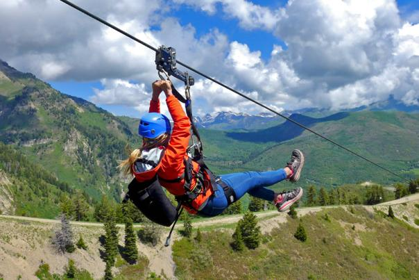 Things to Do - Zipline at Sundance Mountain Resort