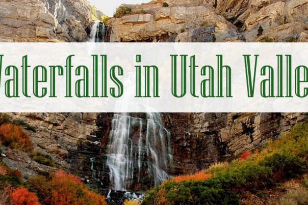 Waterfalls in Utah Valley that Will Take Your Breath Away