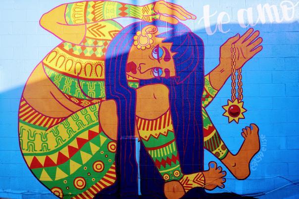 Fourth Plain Mural - Becerras Internatl Groceries