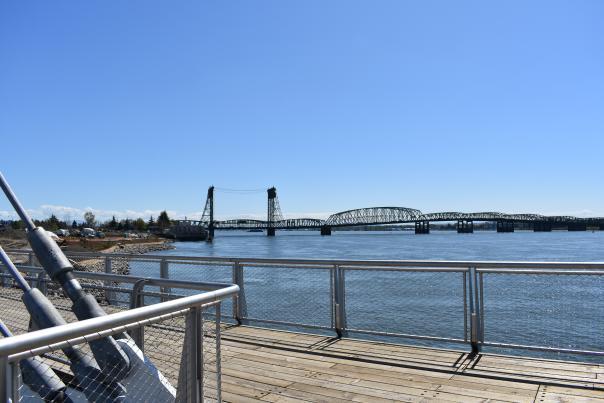 Waterfront Pier - Bridge View