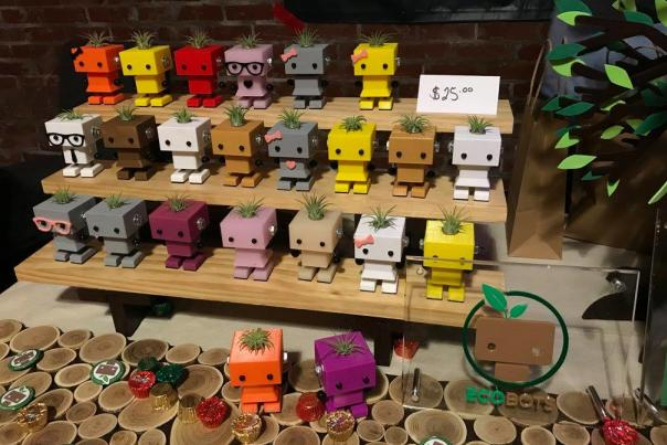 EcoBots at Night Market