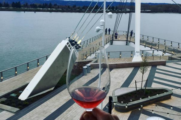 Waterfront Grant Street Pier wine