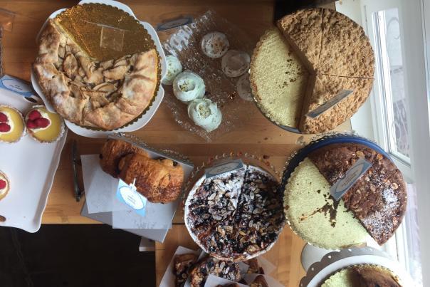 Pastries at Bleu Door Bakery