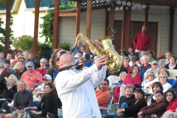 Patrick Lamb concert at Bethany Vineyards
