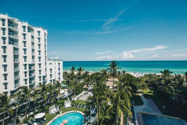 The 357-room Cadillac Hotel & Beach Club is a gleaming statement on how vintage can be glamorous thanks to attention to detail and dedication to history.