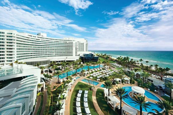 Fontainebleau in Miami Beach