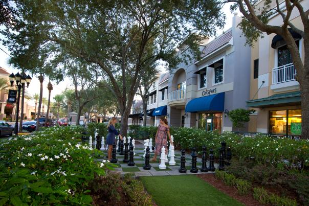 Winter Park Village is a 49-store outdoor shopping complex that manages to pull off a boutique feel.
