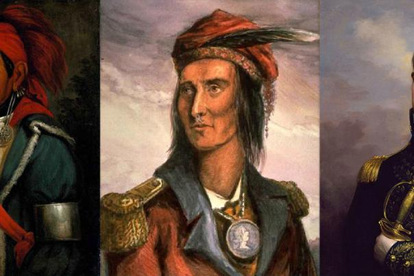Tenskwatawa (the Prophet), Tecumseh, and Harrison
