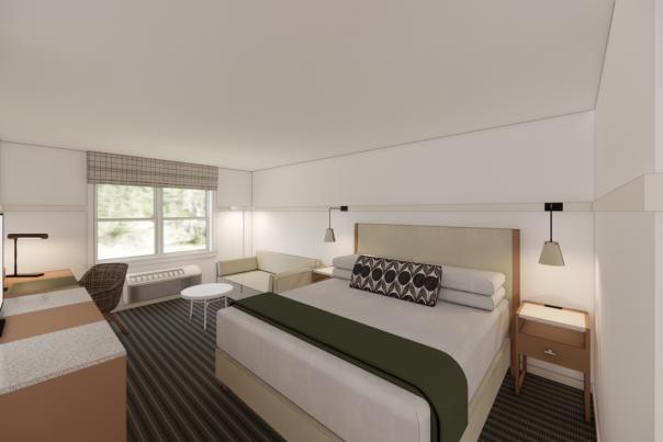 White Mountain Hotel Renovation