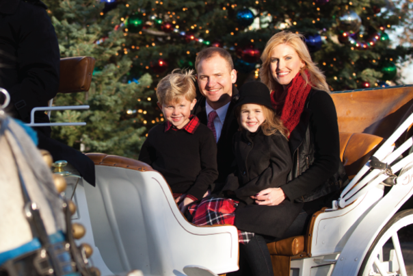 Family Carriage Rides at Bradley Fair