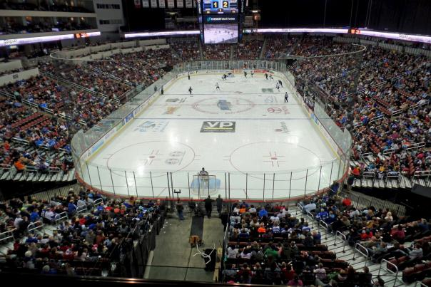 Wichita Thunder vs Quad City Mallards