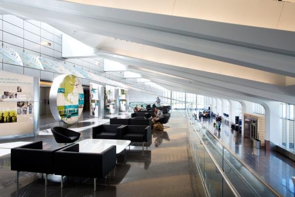 Newly Remodeled Terminal at Dwight D Eisenhower Airport