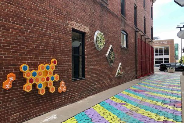 Gallery Alley Artwork In Wichita, KS
