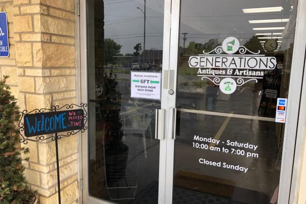 Generations Antiques Reopened