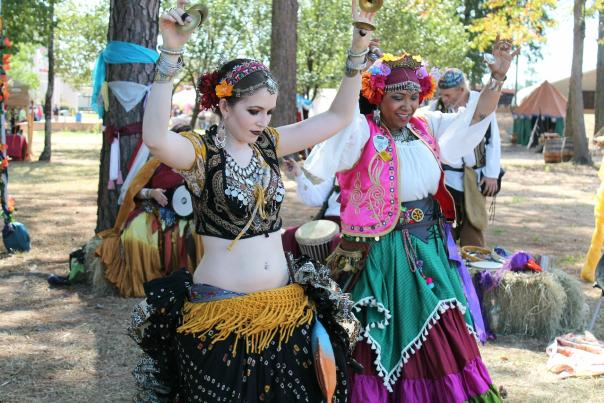 Renaissance Faire Belly Dancers