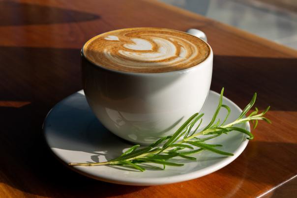 Coffee Art from Reverie Coffee Roasters